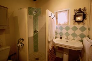 En-suite studio shower room