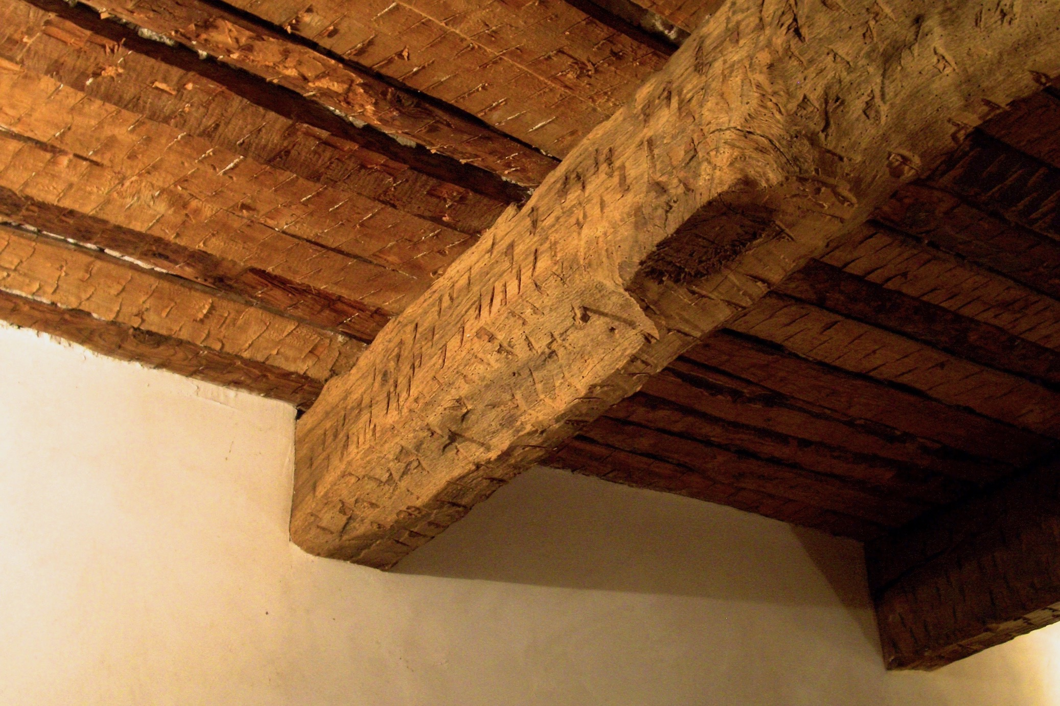 Original 17th century ceilings